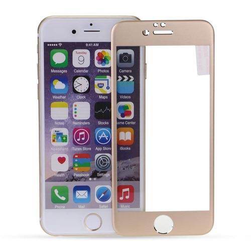 película de vidro fontal para iphone 4 4s - dourada