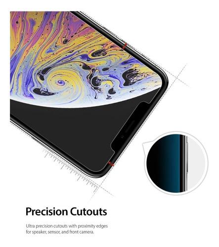 película de vidro iphone xs max ringke id ( com 3 unidades )