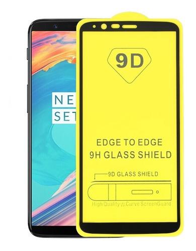 película de vidro oneplus 5t tela 6.01 full glue 5d 9d