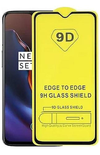 película de vidro oneplus 7t tela 6.55 full glue 9d