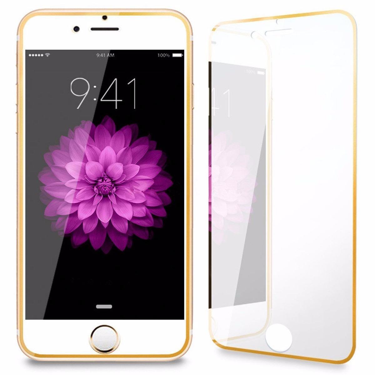 0ab1ac572a3 pelicula de vidro tela inteira borda aluminio iphone 7 plus. Carregando  zoom.