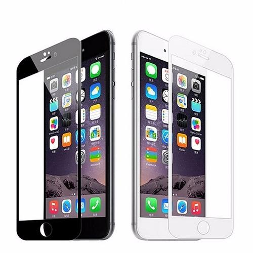 película de vidro temperado 4d iphone 6 7 8 normal ou plus