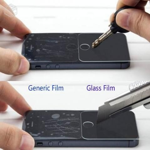película de vidro temperado anti risco galaxy pocket 2 g110