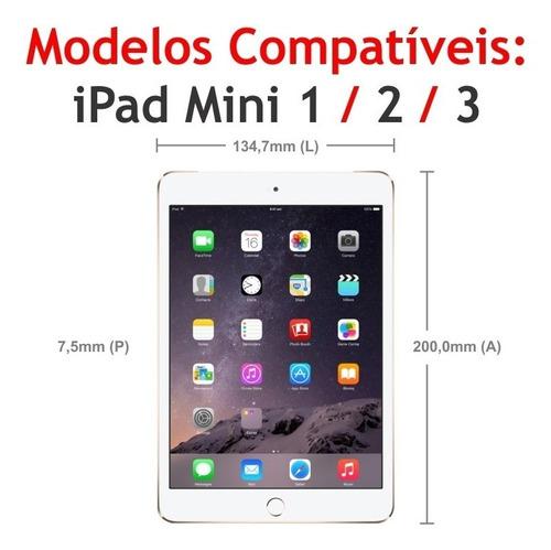 película de vidro temperado apple ipad mini 1 2 3