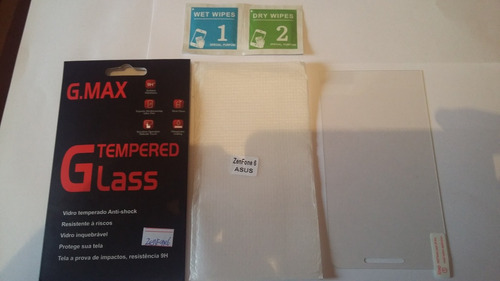película de vidro temperado asus zenfone 6 a600 prnt entrega