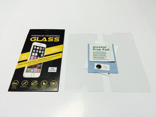 película de vidro temperado frente verso iphone 6 6s plus5.5