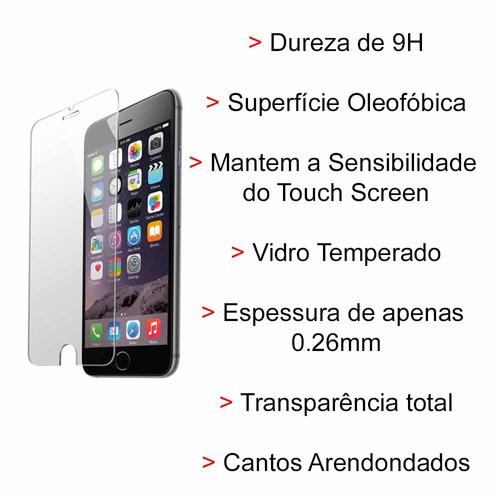 pelicula de vidro temperado iphone 6 4.7 blindada 0.26mm top
