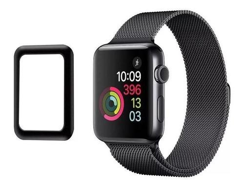 película de vidro ultra proteção 3d para apple watch 1 2 3 4