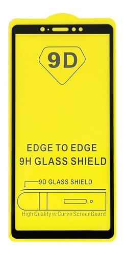 película de vidro xiaomi mi max 3 tela 6.9 full glue 9d