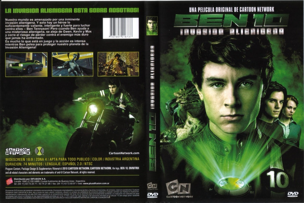 pelicula dvd 100% original ben 10 invasion alienigena. Cargando zoom. 5b3f112573a7