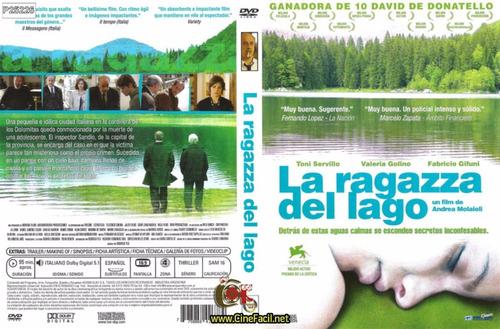 pelicula dvd 100% original la ragazza del lago