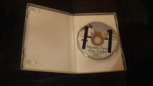 película dvd alguien tiene que ceder comedia - original