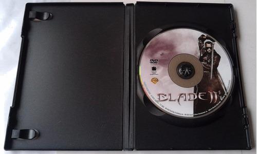 pelicula dvd  blade ii wesley snipes