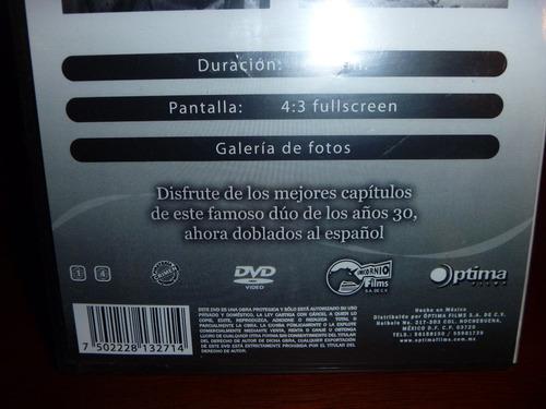 pelicula dvd el gordo y el flaco  3 vv4