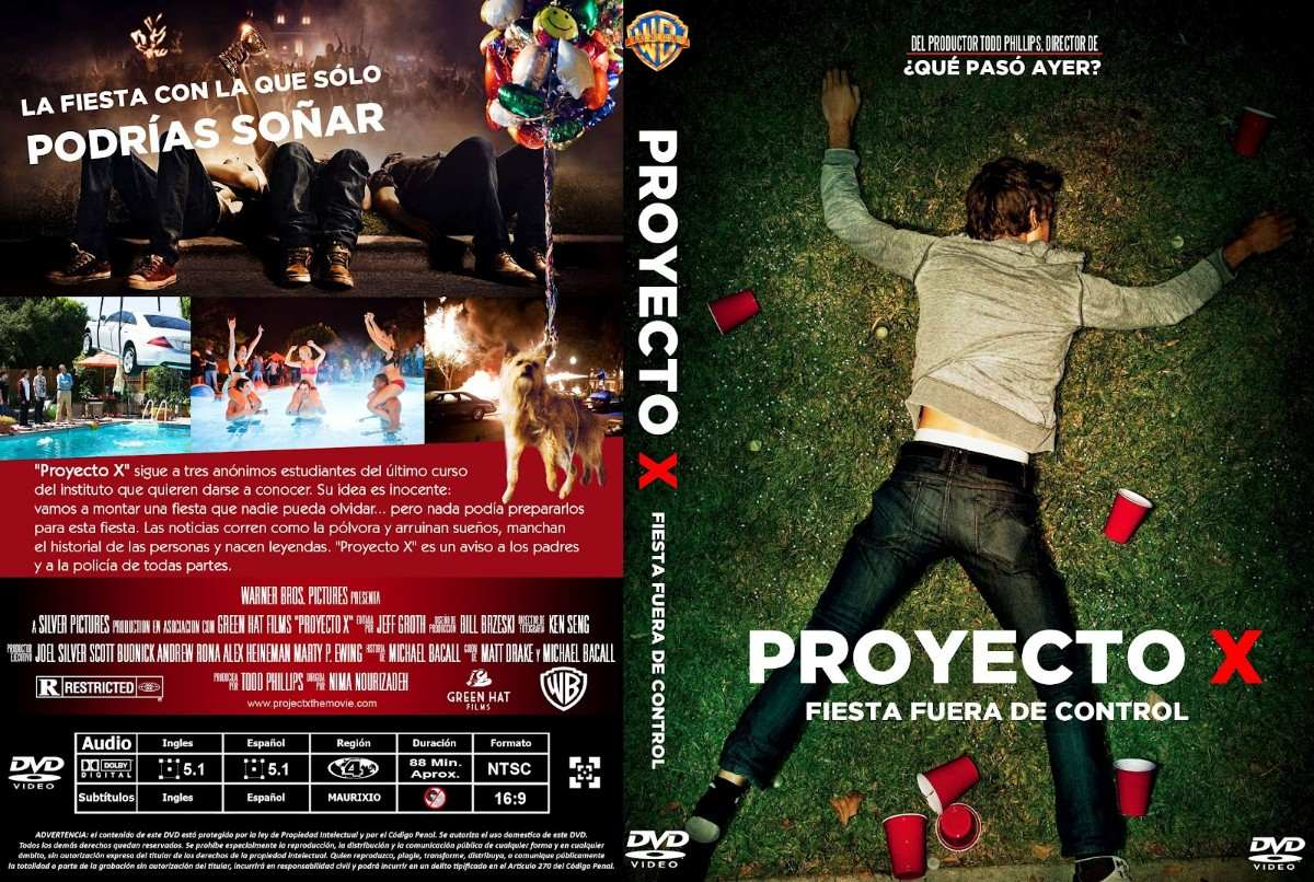 Pelicula Dvd Fiesta Proyecto X Project Que Paso Ayer