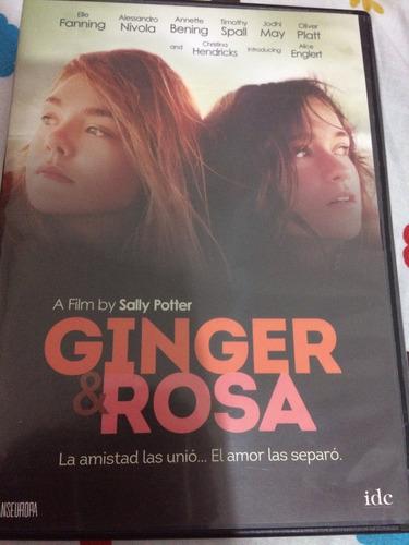 pelicula dvd ginger rosa elle fanning película como nueva