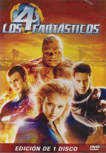 pelicula dvd los 4 fantasticos (2005) jessica alba