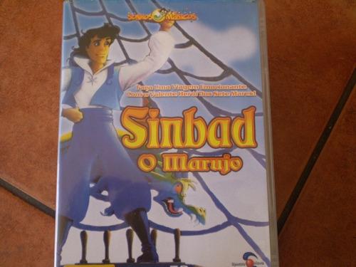 pelicula  dvd  sinbad el marino  portugues (r488