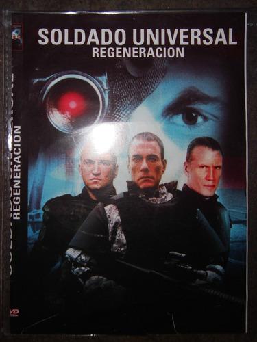 pelicula dvd soldado universal regeneracion