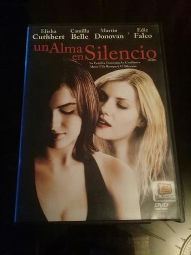 película dvd un alma en silencio suspenso - original