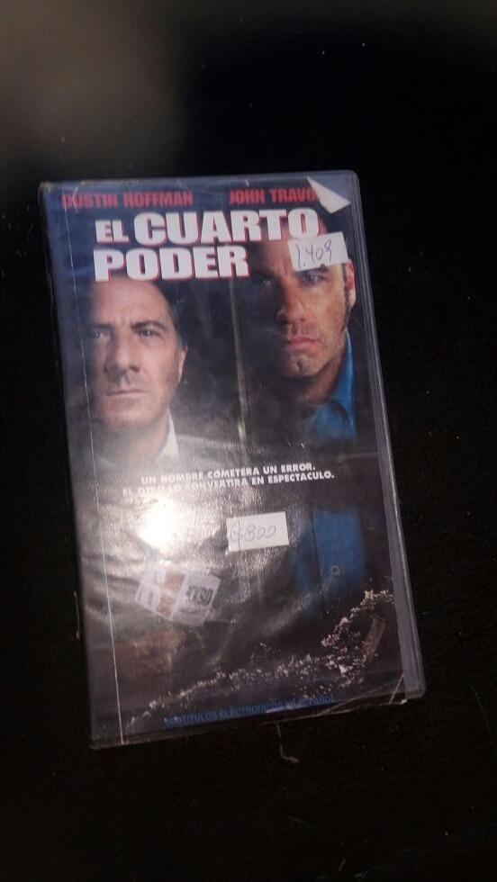 Película El Cuarto Poder Vhs - $ 5.000 en Mercado Libre