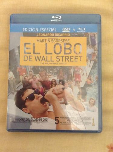 pelicula en combo blu ray y dvd el lobo de wall street