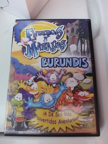 pelicula en dvd enredos y marañas burundis