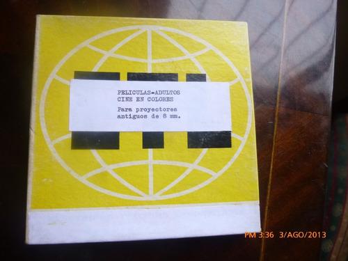 pelicula en super 8 mm de cine erotico sexo explicito   1978