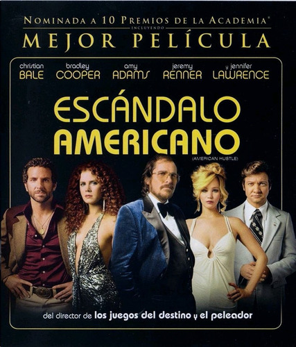 película escándalo americano (american hustle) bluray