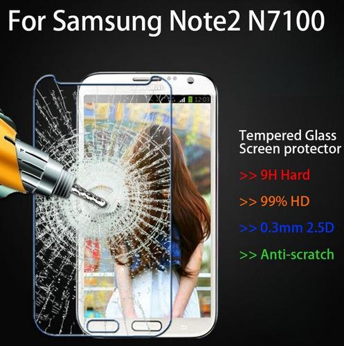 película escudo vidro temperado samsung galaxy note 2 n7100