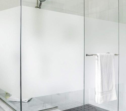 pelicula esmerilada mate blanca rollo completo 30m x 1.52m