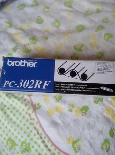 película fax brother pc 302rf 0riginal (empaque 2 rollos)