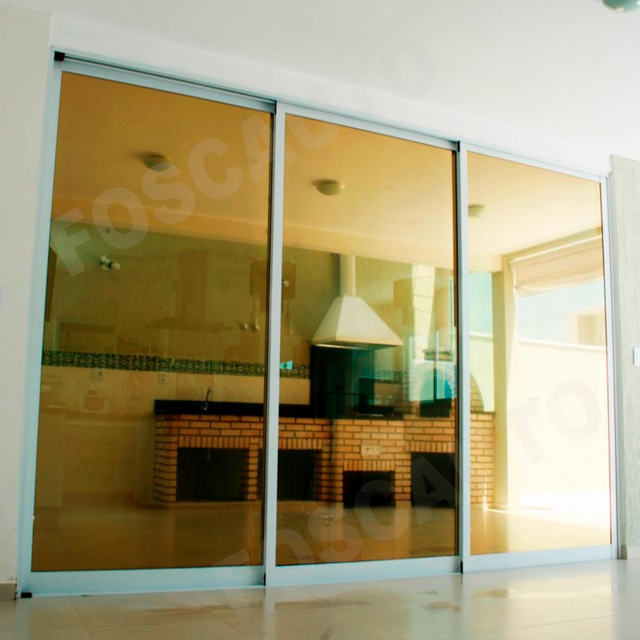 Pel cula filme ouro espelhado vidro janela porta 10m x - Casas de peliculas ...