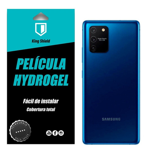 película galaxy s10 lite (6.7) kingshield full (1x traseira)