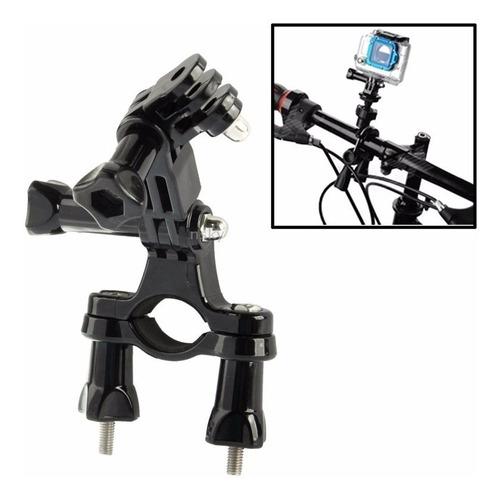 película gopro 7 black suporte articulado guidões bike tubos