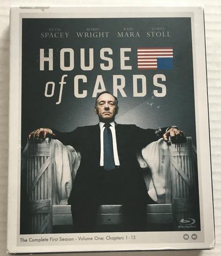 pelicula   house of cards   season 1    blu-ray box set
