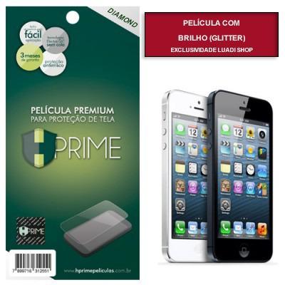 película hprime - com glitter - apple iphone 5 5s 5c