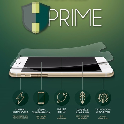 a4d0a3c154d Película Hprime Nanoshield Para Apple iPhone 7 ( Exclusiva ) - R$ 99 ...