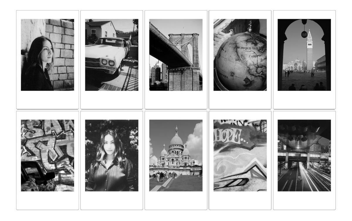 Película Instantánea Fujifilm Instax Mini Monochrome - $ 269.00 en ...