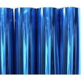pelicula insulfilm espelhado azul  0,75x5,00m poliester