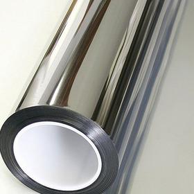 Pelicula Insulfilm Prata Espelhado 0,75 X 4,00m Profissional