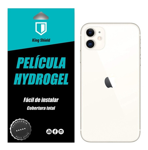 película iphone 11 (6.1) kingshield hydrogel p/ traseira