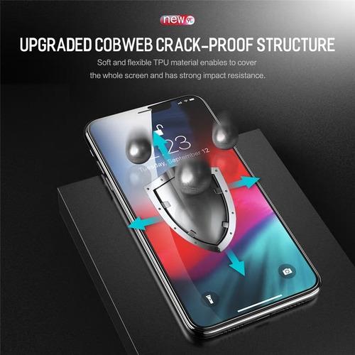 película iphone 11 (6.1) kingshield hydrogel tela & traseira