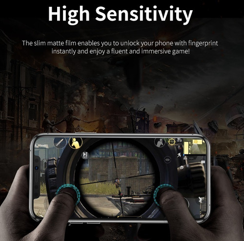 película iphone 12/12 pro (6.1) kingshield hydrogel - fosca