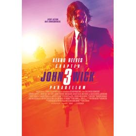 Pelicula John Wick 3 Parabellum Español  Full Hd Combo De 2