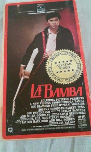 pelicula la bamba vhs