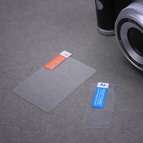 película lcd display superior protetora canon eos 80d / 90d