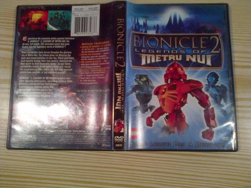 pelicula lego dvd original bionicle 2 legends of metru nui