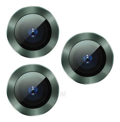película lente traseira iphone 11 pro max alloy ring baseus