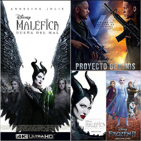 Pelicula Malefica 2 Y Proyecto Geminis En Full Hd 1080p 2x1